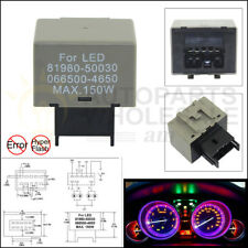 8-Pin LED Flasher Relay Fix Hyper Flash Turn Signal Decoder For LEXUS TOYOTA