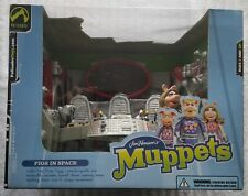 THE MUPPETS PIGS IN SPACE PLAYSET + FIRST MATE PIGGY (MISS PIGGY) ACTION FIGURE