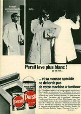 Publicité ancienne lessive Persil 1970  issue de magazine