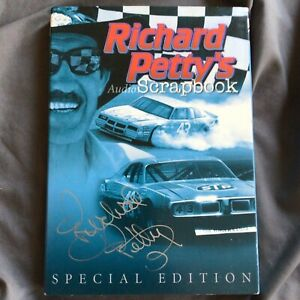 *Autographed* Richard Petty's Audio Scrapbook (2009, 4 CDs) Signed on Cover