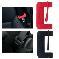 1PC Universal Car Seat Belt Buckle Silicone Cover Anti-Scratch Clip Cover