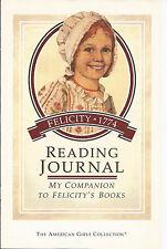 Pleasant Company Felicity Reading Journal! Activites For 5 Books! Retired~92~htf