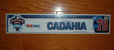 CHICAGO CUBS BENNY CADAHIA 2005 OPENING DAY LOCKER NAME PLATE MLB HOLOGRAM