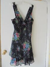 KATE MOSS LOVELY FLORAL FLOATY DRESS SIZE 12 VGC