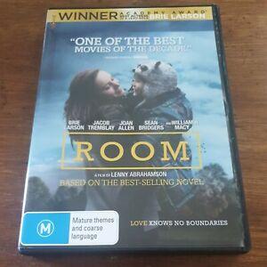 Room Brie Larson DVD R4 Like New! FREE POST