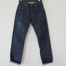LVC LEVIS VINTAGE CLOTHING JEANS 505 0217 BIG E ZIPPER W27 L31 DARK MADE IN USA