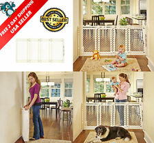 Super Large Extra Big 2 3 4 5 Ft Wide Plastic Baby Dog Pet Safety Gate V Feet