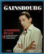 ►COLLECTION OFFICIELLE LIVRE+CD SIGNE SERGE GAINSBOURG N°1 - 1958  -