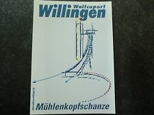 Postkarte Weltcuport Willingen Skispringen Mühlenkopfschanze Wintersport selten