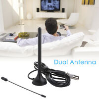 30dBi Indoor Gain Digital DVB-T/FM Freeview Aerial Antenna Amplifier for TV HDTV
