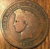 1872 A FRANCE 10 CENTIMES CÉRÈS RÉPUBLIQUE FRANÇAISE