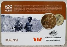 2016 ANZAC to Afghanistan Collection Nordic Gold Coin 25c - KOKODA