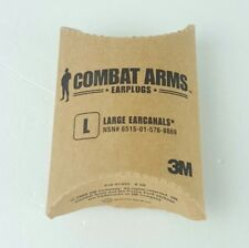3M Combat Arms Earplugs Large (L) 6515-01-576-8869 New Fast Shipping K3