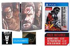 Metal Gear Solid V The Phantom Pain Collectors G2 Steelbook (Blu-Ray)+ PS4 Game