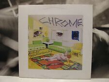 CHROME - ALIEN SOUNDTRACKS LP UNPLAYED 1989 GERMAN REISSUE ON CLEAR VINYL