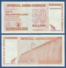 SIMBABWE / Zimbabwe  50 Billion Dollars 2008 UNC  P. 63