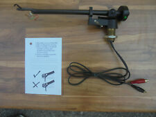 Rega RB 250 High End Arm in fine condition with template
