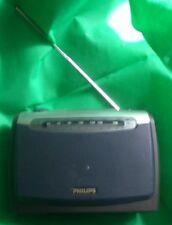 Philips Kofferradio AE2160 blau/grau/chrom gebraucht