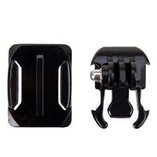 Casco de adhesivo de ajuste de curvas Kit de montaje lateral para GoPro HD Hero 1 2 3 3+ Pack