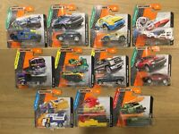 Matchbox Model Vehicles 11 Different Cars MBX Construction, Explorers, Rescue