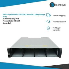 More details for dell compellent hb-1235 dual controller 12-bay storage array 2xpsu