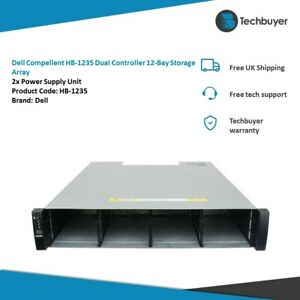 DELL COMPELLENT HB-1235 DUAL CONTROLLER 12-BAY STORAGE ARRAY 2XPSU