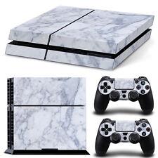 SONY PS4 PlayStation 4 SKIN Design Adesivo Pellicola Protettiva Set - Marble
