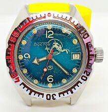 Vostok Amphibia Scuba Diver Rare Automatic USSR Watch caliber 2416b Sovjet Watch