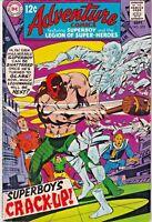 ADVENTURE COMICS#372 FN 1968 DC SILVER AGE COMICS