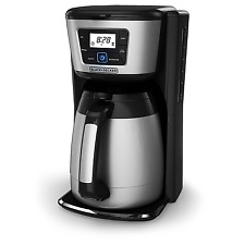 Coffee Maker Brewed Coffee 12 Cup Thermal Carafe Stainless Steel