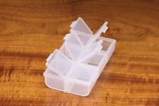 Hareline Dubbin Flip Cap 6 Compartment Fly Box
