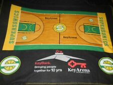 Seattle Supersonics Full Court Souvenir Blanket