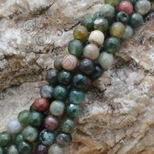 filo agata indian Sfaccettato  6 mm 65 pz  40cm  per i tuoi  gioielli
