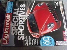 $$ Revue L'Automobile magazine HS N°3 Special sportives  dossier 60 ans Ferrari
