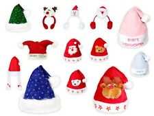 Cappello Babbo Natale per bambini e bimbi di vari colori e disegni