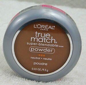 L'oreal True Match Powder Super-Blendable Powder N9 Mahogany Sealed New