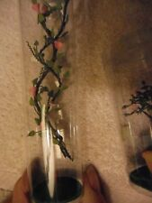 "Dept 56's Season's Bay ""Flowering vine set of 2 and Lattice Obelisk"" set  NRFB"