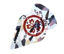Winmau FLOWERS SLIM Tomahawk CHRYSTAL dartflights 3er Set