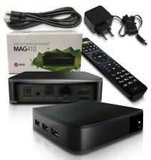 MAG 410 UHD Set Top Box für Android 4K HEVC Multimedia Player Wifi