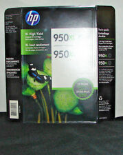HP 950XL High Yield Original Ink Cartridge, Black (2 pk)