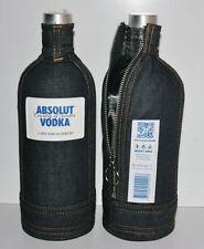 Absolut Vodka DENIM SKIN for Liter bottles + Free International Shipping