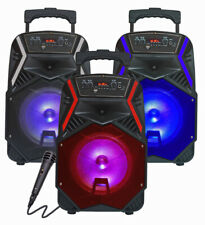 "TOP TECH AUDIO  Fully Amplified Portable 1600 Watts Peak Power 8"" Speaker"