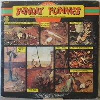 SUNDAY FUNNIES s/t LP 1970s U.S. Rock – on Rare Earth, in Gatefold cover