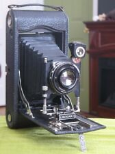 Antique Kodak No 3A Autographic Model C Folding Camera w/ Orig Case & Stylus