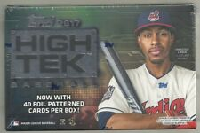 2017 Topps High Tek Factory Sealed Hobby Box 2 Autographs Per Box