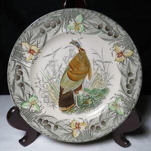 Vintage The Birds of America Plate WILD TURKEY John James Audubon ADAMS England