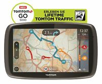 TomTom GO 5000 Europa XXL HD-Traffic + Free Lifetime 3D Maps IQ Tap&Go GPS * WOW