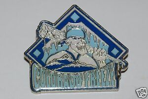WOW Nice Large COLORADO Freeze Baseball Dual Back Jacket Pin HTF