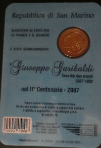 2€ commémmorative san marin 2007
