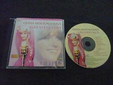 OLIVIA NEWTON JOHN GREATEST HITS ULTRA RARE SINGAPORE GOLD DISC CD!